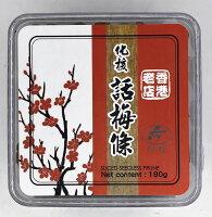 櫻桃小丸子美食甜點蛋糕推薦到[哈日小丸子]香港化核化梅條(190g)就在哈日小丸子推薦櫻桃小丸子美食甜點蛋糕
