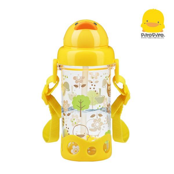 黃色小鴨 Tritan滑蓋吸管水壺400ml【甜蜜家族】