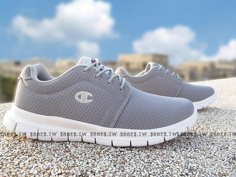 《限時特價990元》Shoestw【811210222】Champion CP Runner 運動鞋 灰白 網布 男生 0