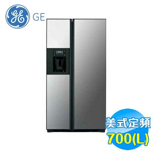 奇異 GE 700L 薄型對開門冰箱 PZS23KPDBV 【送標準安裝】