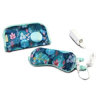 LOURDES AX-KX511 充電式溫熱眼罩 (彩繪藍)