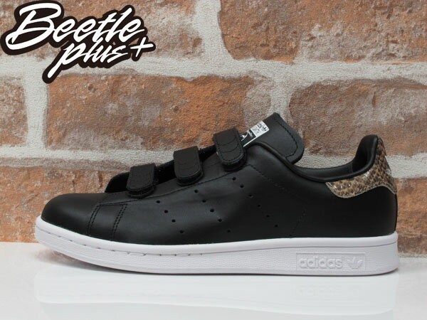 BEETLE ADIDAS ORIGINALS STAN SMITH CF W 黑白 魔鬼氈 蛇紋 女鞋 余文樂 S81390