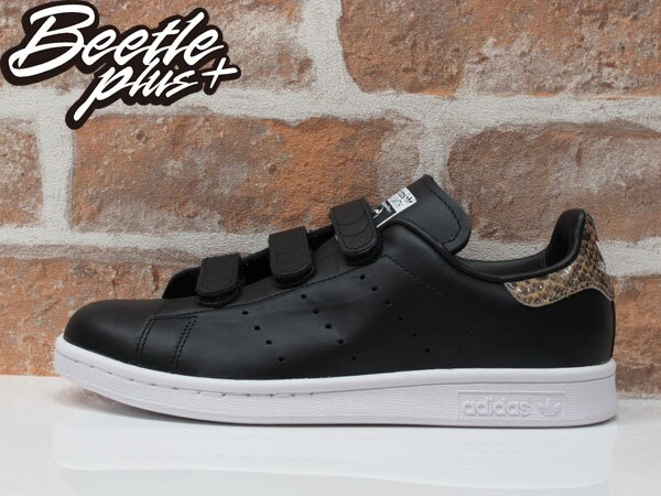BEETLE ADIDAS ORIGINALS STAN SMITH CF W 黑白 魔鬼氈 蛇紋 女鞋 余文樂 S81390 0