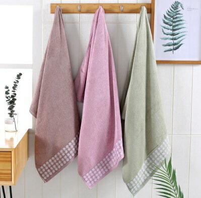 PS Mall 竹漿纖維毛巾 毛巾34*76cm【J1373】 2