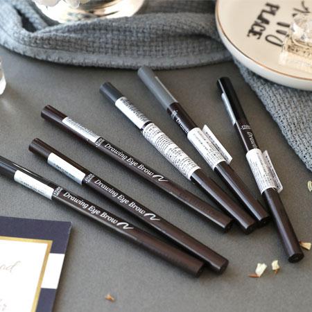 韓國 ETUDE HOUSE 增量版 素描高手造型眉筆 0.25g 附眉刷 眉筆 畫眉筆【N101234】