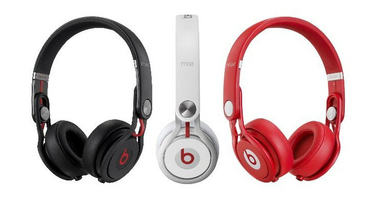 Beats by dr.dre Mixr  耳機 與 Monster David Guetta DJ聯名 白色 1
