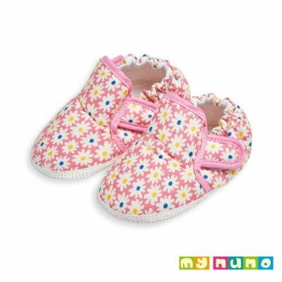my nuno 粉嫩花園輕量學步鞋 (粉色)-11.5cm