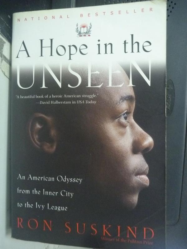 【書寶二手書T6/原文小說_HRG】A Hope in the Unseen_Ron Suskind