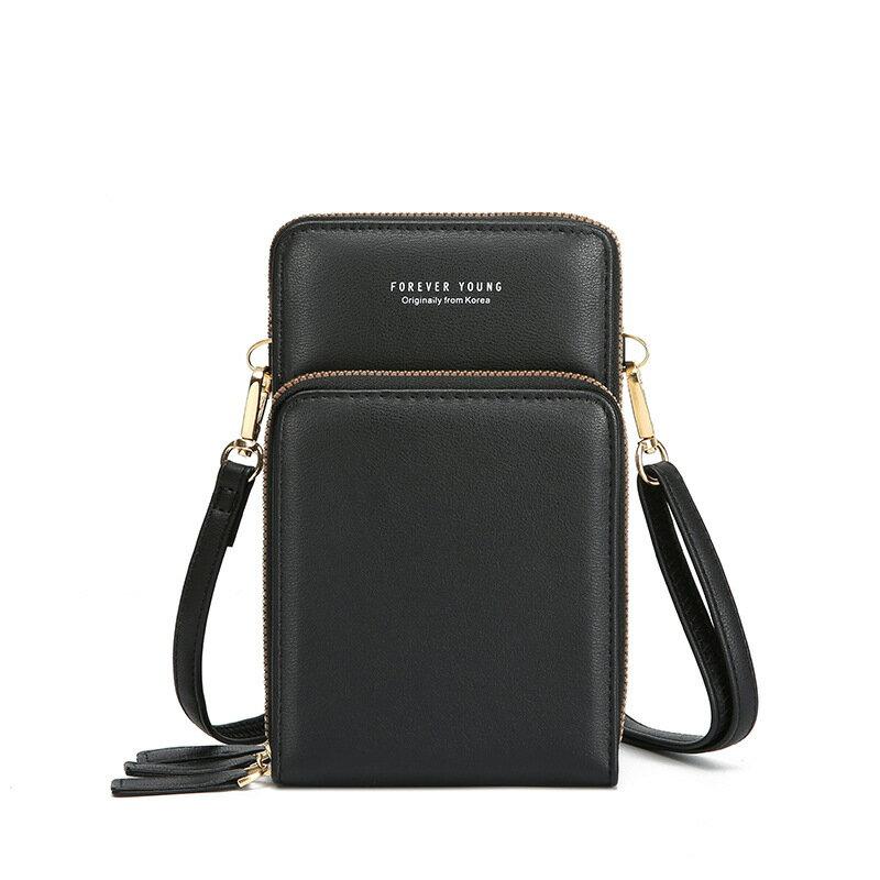 手機包可觸屏新款韓版跨境熱銷三層斜挎包春夏簡約小包包