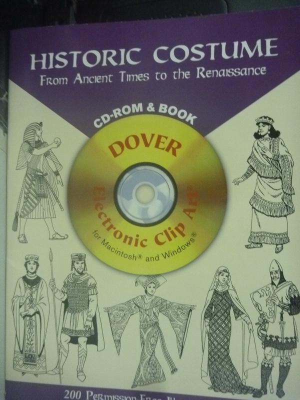 ~書寶 書T5/藝術_WFS~Historic Costume: From Ancient