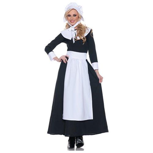 Proper Pilgrim Woman Adult Costume 0