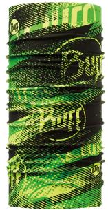 ├登山樂┤西班牙BUFF閃電萊姆FlashLogoCOOLMAX抗UV頭巾#BF108576