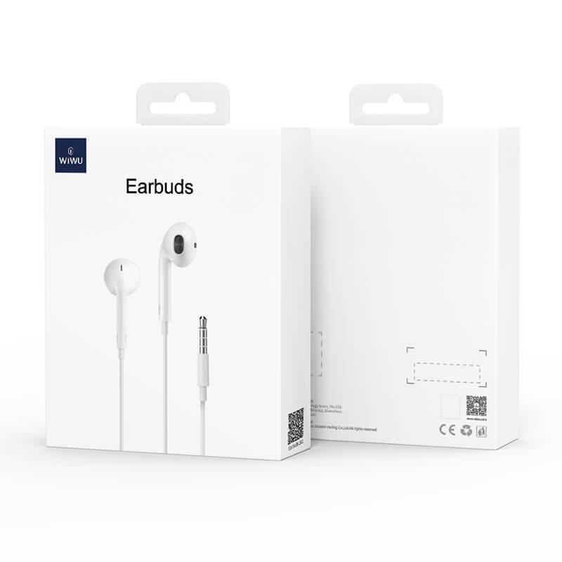 Wiwu EB101 3.5mm孔 耳機 有線耳機 自帶麥克風 線控耳機 人10 大55