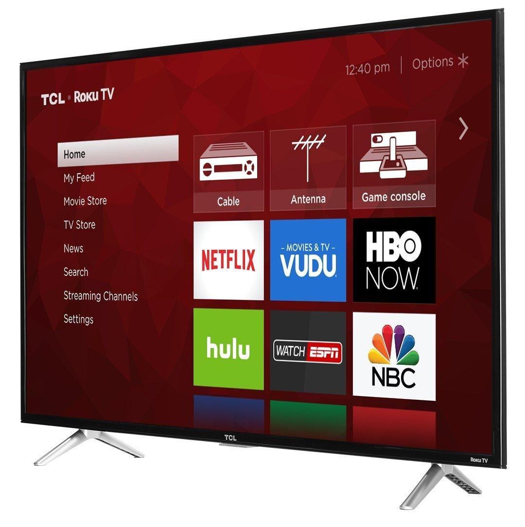 TCL 43S405 43-Inch 4K Ultra HD Roku Smart LED TV (2017 Model) 4