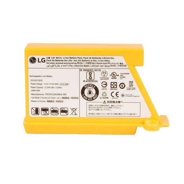 LG 樂金 清潔機器人吸塵器電池 EAC62218205 黑皮TIME 06907