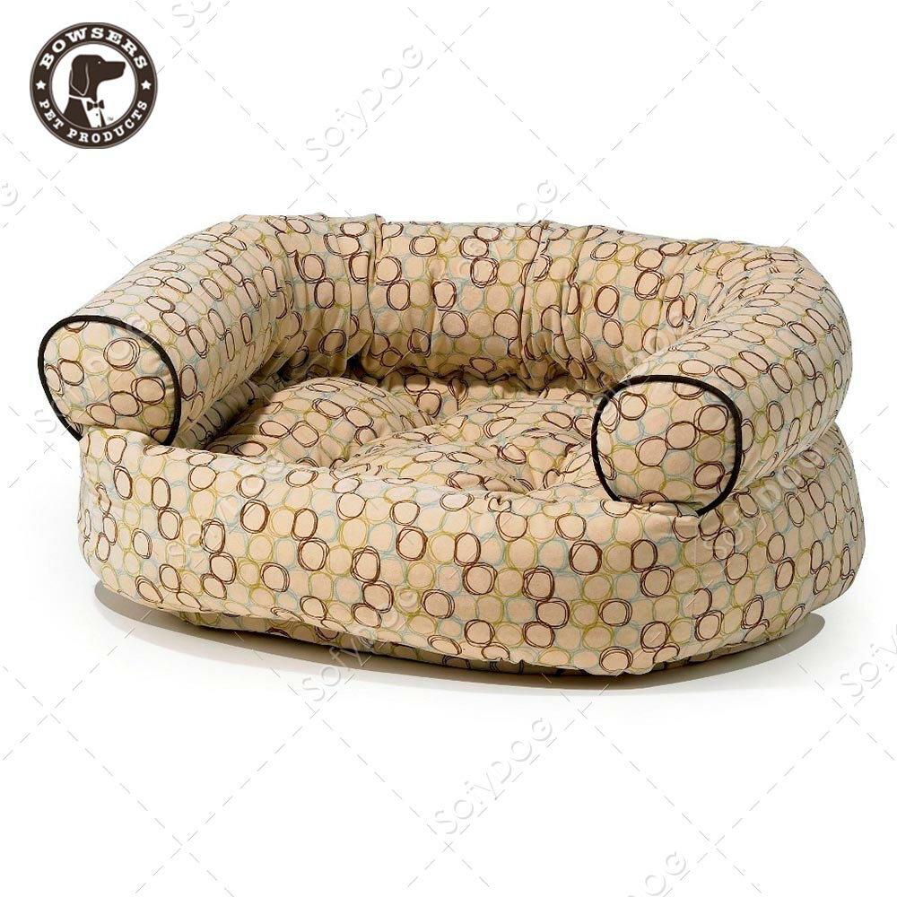 BOWSERS雙層極適寵物沙發床-套圈圈(白)-S