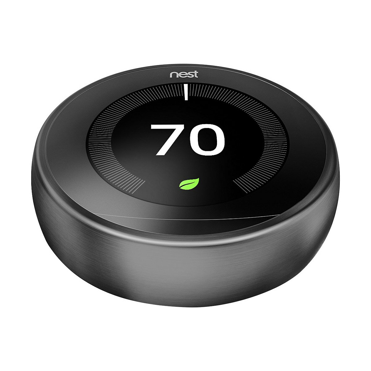 Nest 3rd Generation Programmable Wi-Fi Smart Learning Thermostat T3016US - Black 4