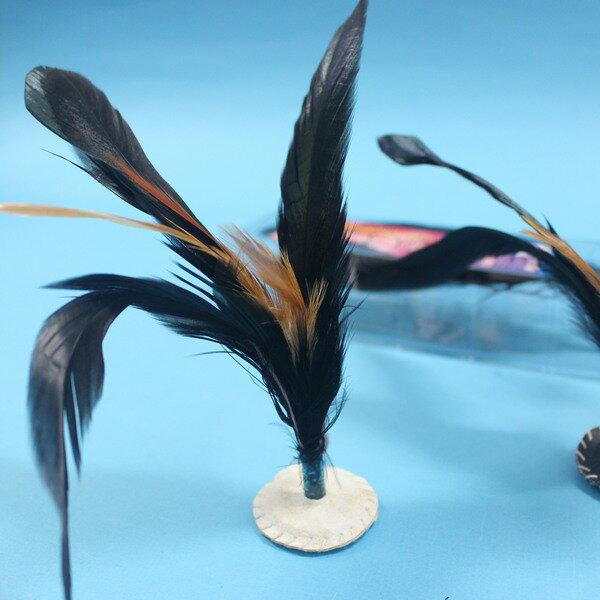 大公雞毛毽子 皮面縫線毽子 LT-159 比賽級雷鳥毽子MIT製/一個入{定35}