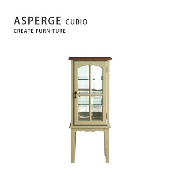 【MUKU工房】北海道旭川家具CreateFurniture無垢ASPERGE玻璃櫃40(原木實木)