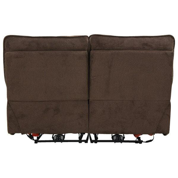 ◎布質2人用電動可躺式沙發 HIT 804 DBR NITORI宜得利家居 4