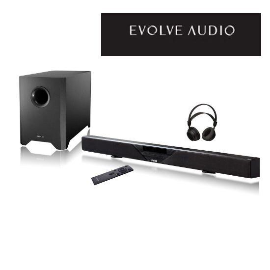 EVOLVE AUDIO ( SB-2600 ) 藍芽無線家庭劇院SoundBar - 限時優惠好康折扣