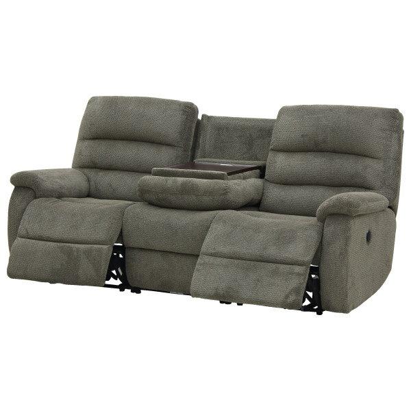 ◎布質3人用電動可躺式沙發 BELIEVER3 804 MGY NITORI宜得利家居 4