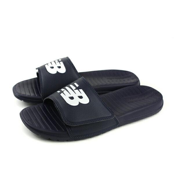 NEWBALANCE拖鞋深藍色方便好穿舒適輕運動風男鞋SD230NV-Dno416