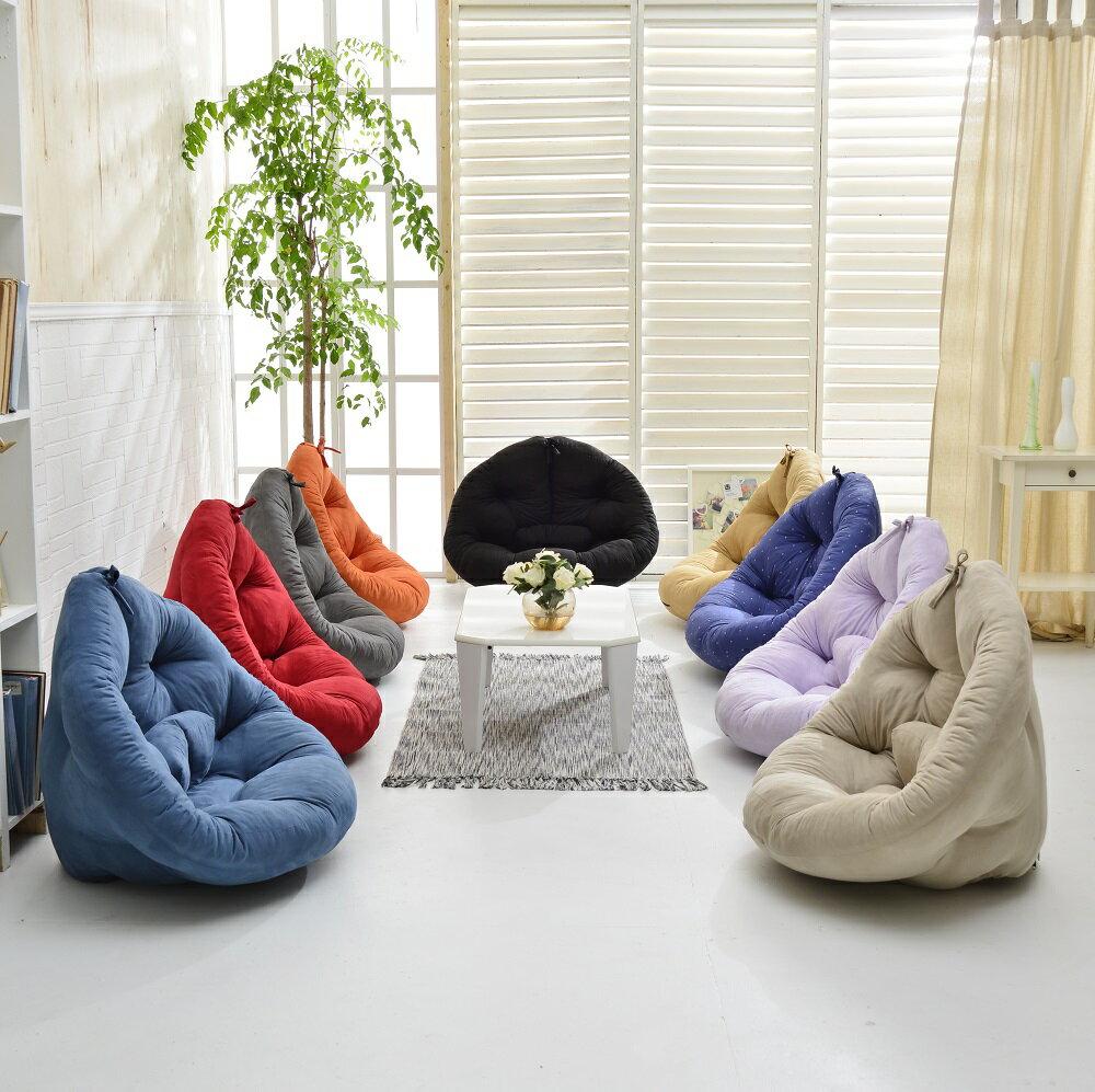 窩在家Mushroom蘑菇創意懶骨頭沙發床(不需靠牆即可使用)/單人椅/單人沙發/布沙發/星球椅/休閒椅/坐墊★班尼斯國際家具名床
