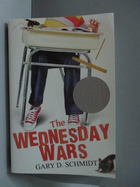 ~書寶 書T1/原文小說_ODG~The Wednesday Wars_Schmidt