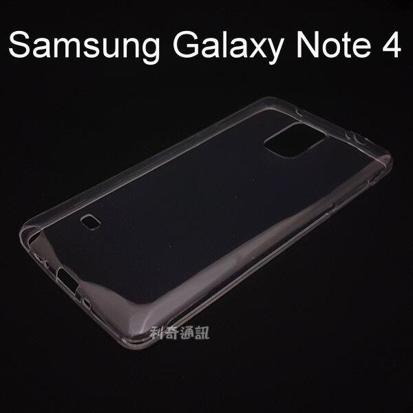 超薄透明軟殼 [透明] Samsung Galaxy Note 4 N910 N910U