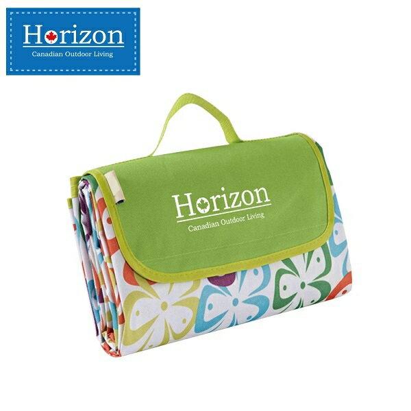 加拿大 天際線 Horizon 多 防潮沙灘野餐墊 加贈防水輕巧收納袋 180*145-五葉花【紫貝殼】
