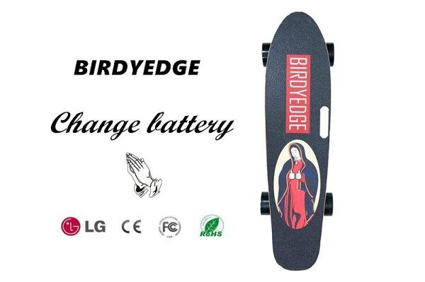 BIRDYEDGE聖母可拆卸電動滑板LD01電動滑板車手提USB行動電源全台灣首發設計