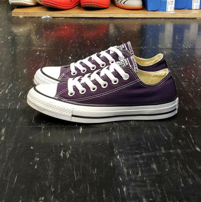 Converse Chuck Taylor All Star 基本款 低筒 帆布 紫色 葡萄紫 深紫色 149525C
