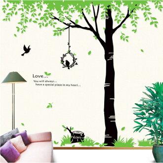 PS Mall╭*可移動多款創意的裝飾組合牆面貼紙 牆貼 壁貼【J1165】歐風 DM57-0020