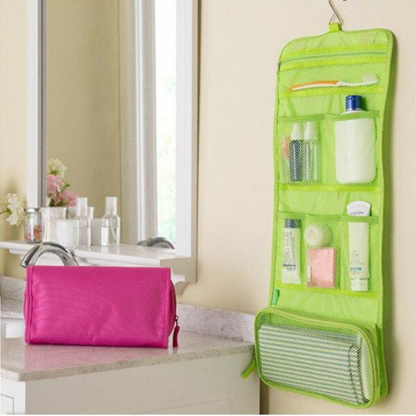 PS Mall  可掛式洗漱包 化妝包 大容量旅行收納袋 收納包 盥洗包~J1905~ ~