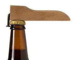 PS Mall╭~實木環保簡易釘子開瓶器 原木頭酒瓶器 ~J279~ ~  好康折扣