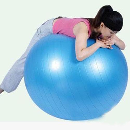 PS Mall 瑜珈健身球 環保加厚瑜珈球 免去健身房在家輕鬆做 充氣版本~H041~