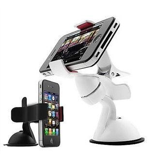 PS Mall╭*車載手機架車用旋轉導航架 各款手機架汽車杯夾夾子手機支架 自拍【J696】 iphone6&6S可用