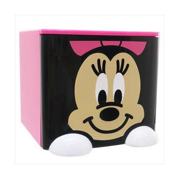 X射線【C441883】米妮Minnie 積木式迷你收納盒,雜物籃 收納盒 書架 雜誌架 桌上收納 筆筒