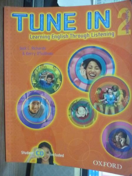 ~書寶 書T6/高中參考書_PKY~Tune In:Student Book 2 _Ric