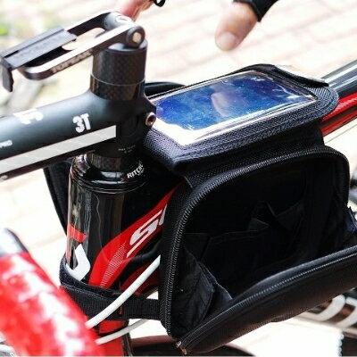 美麗大街【BK0312155】正品GBR自行車EVA硬殼上管包馬鞍包