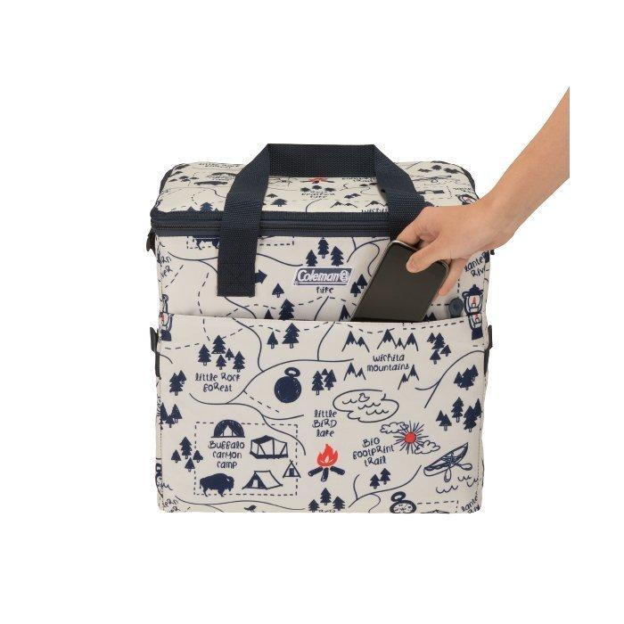 [ Coleman ] 30L 露營地圖保冷袋 / 保冷袋 / 公司貨 CM-33433