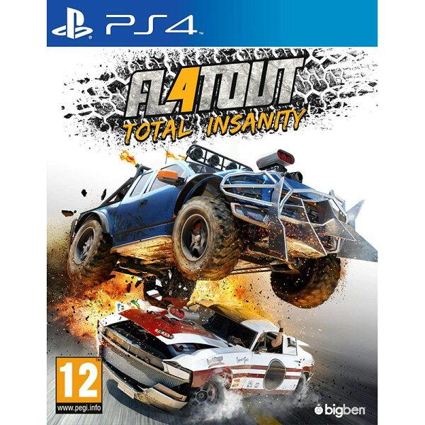 PS4極限賽車4徹底瘋狂-中文亞版-橫衝直撞4瘋狂Flatout4TotalInsanity
