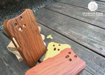 iFUSHUN Wooden case for HTC ONE M8原木保護殼 木作殼 實木手機殼