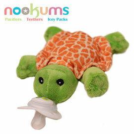 babygo:nookums搖鈴安撫奶嘴玩偶-小漫龜