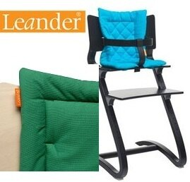 *babygo*丹麥 Leander 高腳餐椅配件-坐墊【仙人掌綠】