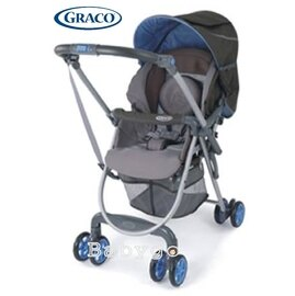 *babygo*GRACO Citi Lite R DX 城市漫遊豪華版超輕量型雙向嬰幼兒手推車-灰森林