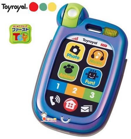 *babygo*樂雅Toyroyal 觸控手機電話