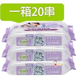 *babygo*貝恩EDI NEW 超厚超純水嬰兒保養柔濕巾量販組【20抽x3包】一箱20串