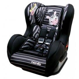 *babygo*法國 NANIA 納尼亞旗艦0-4歲安全汽座-卡通動物系列【斑馬黑】FB00386